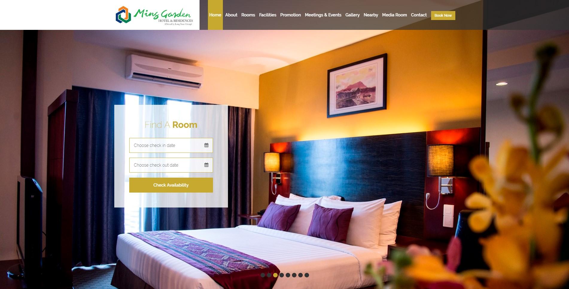 ming garden hotel kk