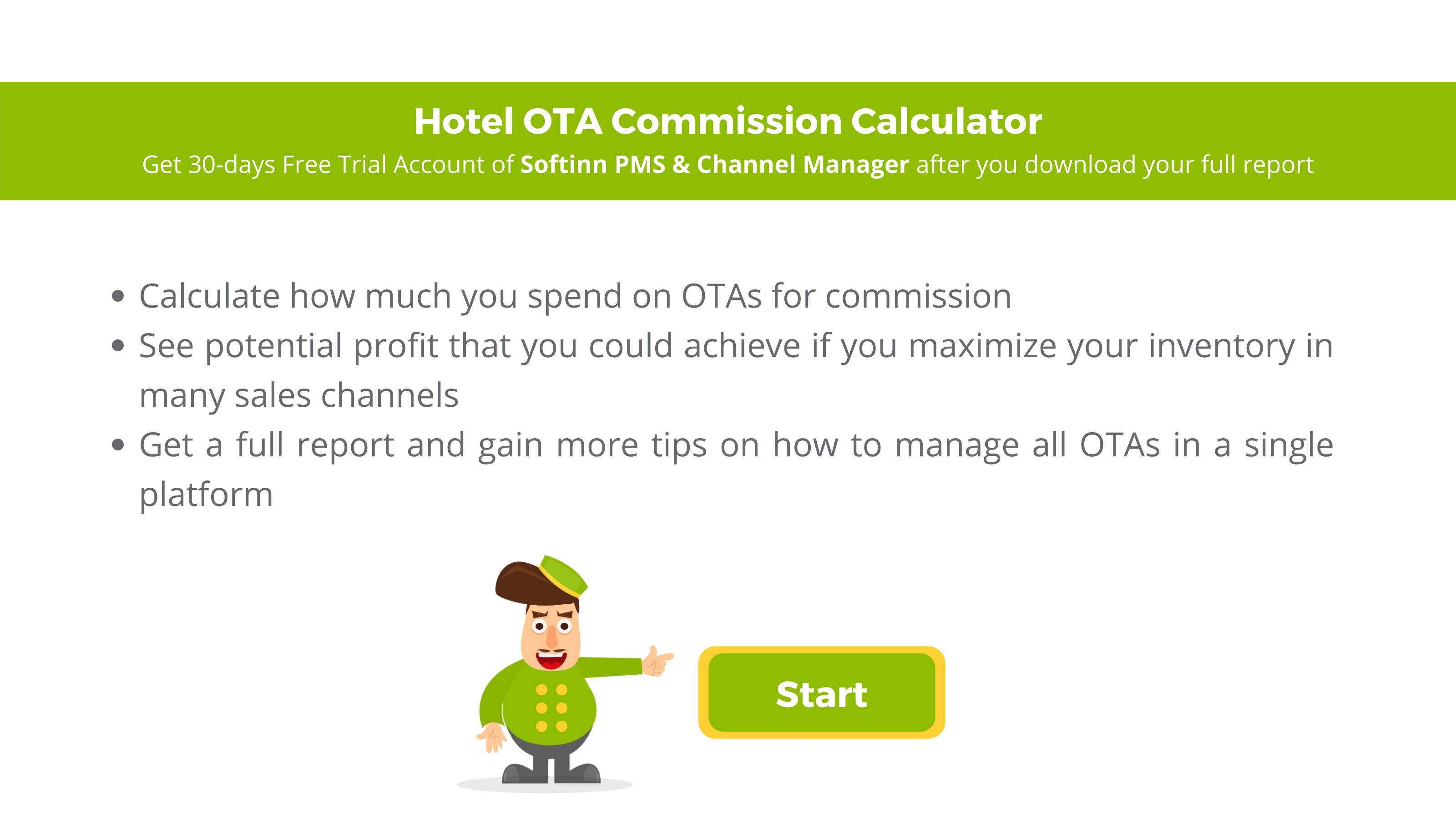Hotel OTA Commission Calculator