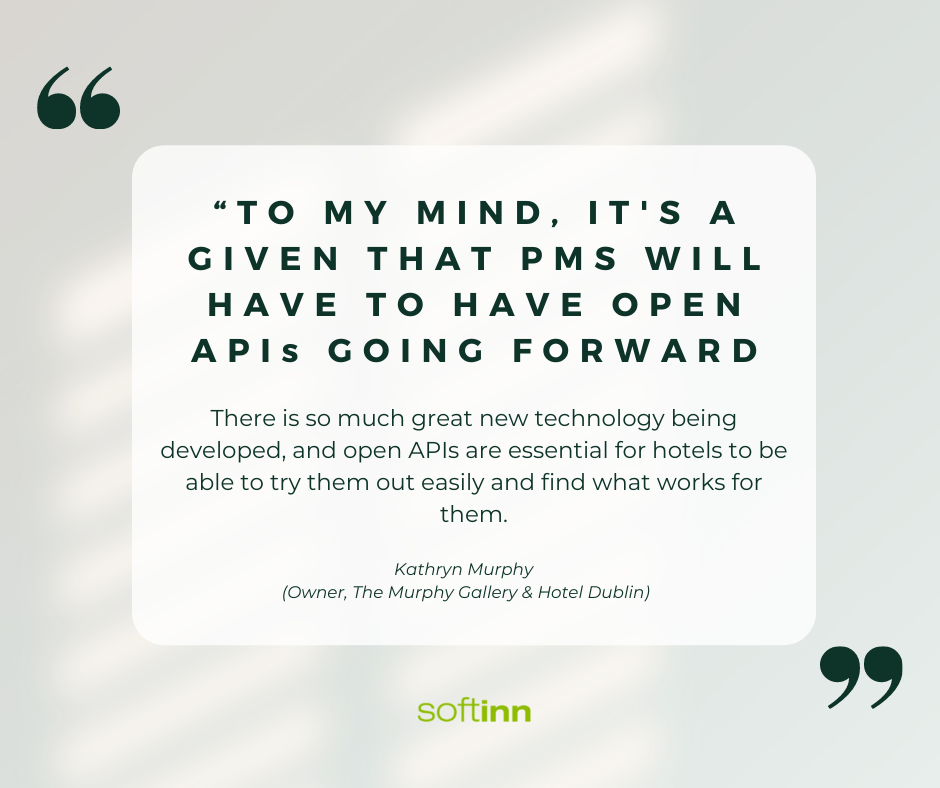 What Katryn has to say about the future of Hotel PMS
