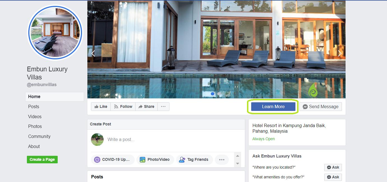 Embun Luxury Villa Facebook