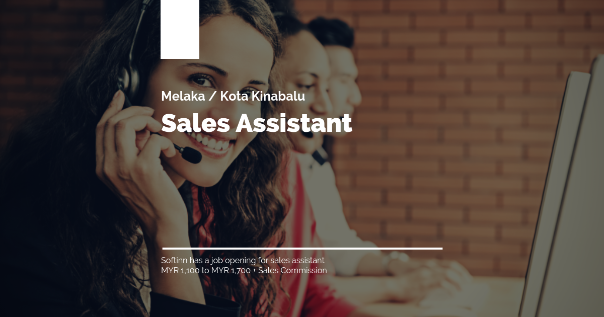 HR - Job Posting Featured Image - Sales Assistant
