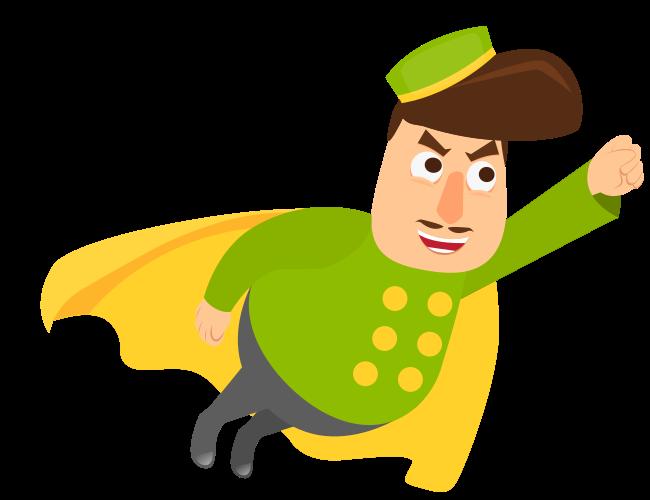 Mascot-68-superhero